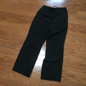 Gap track pants size medium men's black